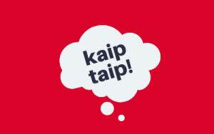 kaiptaip.lt logo